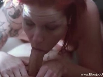 Riding In The Car Erotic Blowjob